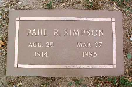 SIMPSON, PAUL RICHARD - Yavapai County, Arizona | PAUL RICHARD SIMPSON - Arizona Gravestone Photos