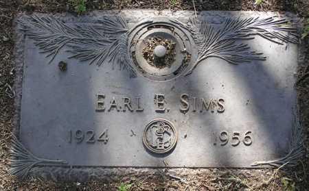 SIMS, EARL EUGENE - Yavapai County, Arizona | EARL EUGENE SIMS - Arizona Gravestone Photos