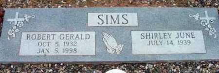 SIMS, SHIRLEY JUNE - Yavapai County, Arizona | SHIRLEY JUNE SIMS - Arizona Gravestone Photos