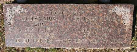 SIMS, THELMA - Yavapai County, Arizona | THELMA SIMS - Arizona Gravestone Photos