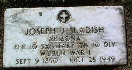 SLADISH, JOSEPH JOHN - Yavapai County, Arizona | JOSEPH JOHN SLADISH - Arizona Gravestone Photos