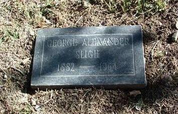 SLIGH, GEORGE ALEXANDER - Yavapai County, Arizona   GEORGE ALEXANDER SLIGH - Arizona Gravestone Photos