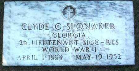 SLONAKER, CLYDE C. - Yavapai County, Arizona | CLYDE C. SLONAKER - Arizona Gravestone Photos