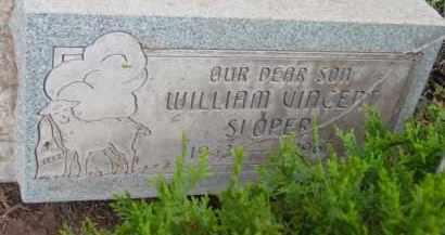 SLOPER, WILLIAM VINCENT - Yavapai County, Arizona   WILLIAM VINCENT SLOPER - Arizona Gravestone Photos