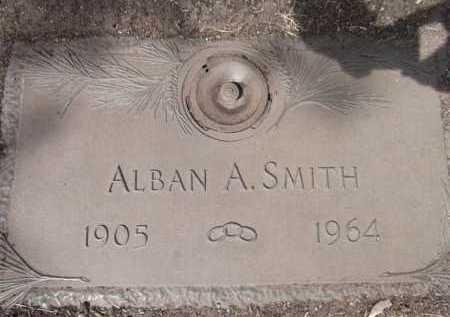 SMITH, ALBAN ARTHUR - Yavapai County, Arizona | ALBAN ARTHUR SMITH - Arizona Gravestone Photos