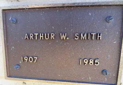 SMITH, ARTHUR W. - Yavapai County, Arizona   ARTHUR W. SMITH - Arizona Gravestone Photos