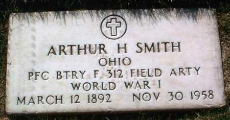 SMITH, ARTHUR H. - Yavapai County, Arizona   ARTHUR H. SMITH - Arizona Gravestone Photos