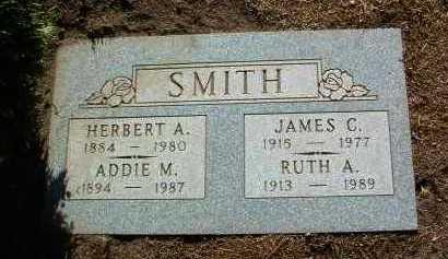 BALLZ SMITH, ADDIE MARTHA - Yavapai County, Arizona | ADDIE MARTHA BALLZ SMITH - Arizona Gravestone Photos