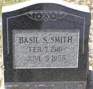 SMITH, BASIL S. - Yavapai County, Arizona   BASIL S. SMITH - Arizona Gravestone Photos
