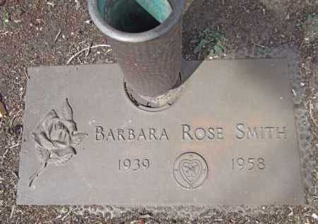 SMITH, BARBARA ROSE - Yavapai County, Arizona | BARBARA ROSE SMITH - Arizona Gravestone Photos