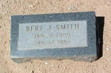 SMITH, BERT J. - Yavapai County, Arizona | BERT J. SMITH - Arizona Gravestone Photos