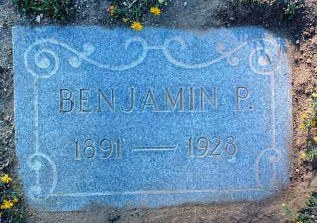 SMITH, BENJAMIN P. - Yavapai County, Arizona   BENJAMIN P. SMITH - Arizona Gravestone Photos
