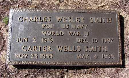 SMITH, CARTER WELLS - Yavapai County, Arizona   CARTER WELLS SMITH - Arizona Gravestone Photos