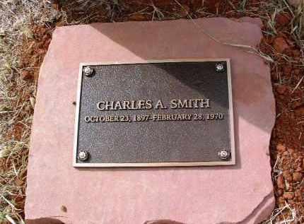 SMITH, CHARLES ALBERT - Yavapai County, Arizona | CHARLES ALBERT SMITH - Arizona Gravestone Photos