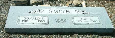 SMITH, DONALD FRANCIS - Yavapai County, Arizona | DONALD FRANCIS SMITH - Arizona Gravestone Photos