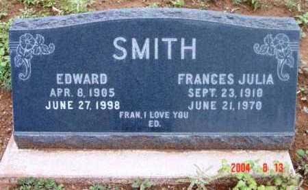 SMITH, FRANCES JULIA - Yavapai County, Arizona | FRANCES JULIA SMITH - Arizona Gravestone Photos