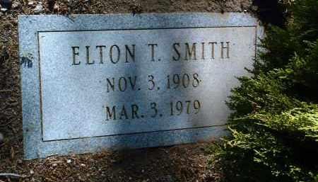 SMITH, ELTON TAFT - Yavapai County, Arizona   ELTON TAFT SMITH - Arizona Gravestone Photos