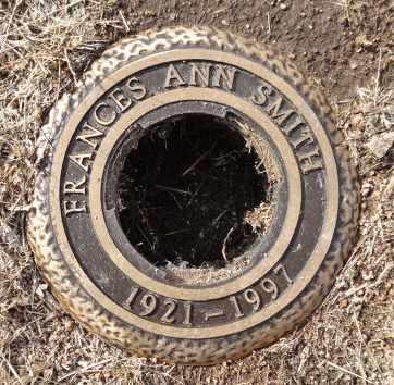SMITH, FRANCES ANN - Yavapai County, Arizona | FRANCES ANN SMITH - Arizona Gravestone Photos
