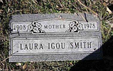 SMITH, LAURA ANNA IGOU - Yavapai County, Arizona   LAURA ANNA IGOU SMITH - Arizona Gravestone Photos