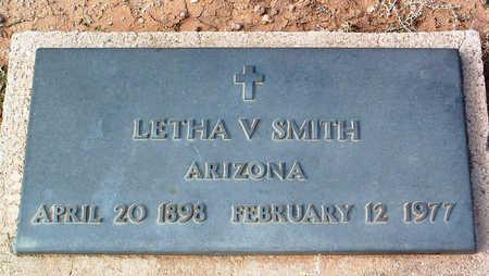 SMITH, LETHA V. - Yavapai County, Arizona   LETHA V. SMITH - Arizona Gravestone Photos