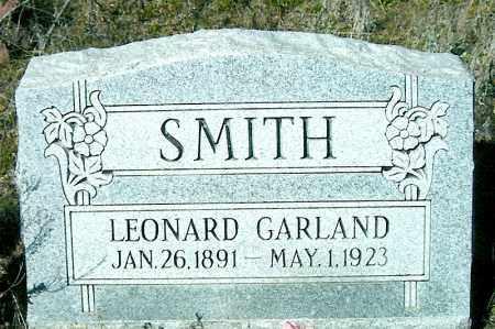 SMITH, LEONARD GARLAND - Yavapai County, Arizona   LEONARD GARLAND SMITH - Arizona Gravestone Photos