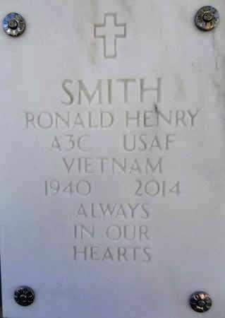 SMITH, RONALD HENRY - Yavapai County, Arizona   RONALD HENRY SMITH - Arizona Gravestone Photos
