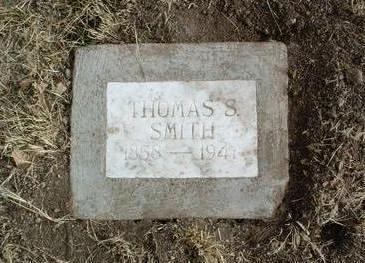 SMITH, THOMAS S. - Yavapai County, Arizona | THOMAS S. SMITH - Arizona Gravestone Photos