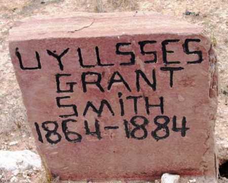 SMITH, ULYSSES GRANT - Yavapai County, Arizona | ULYSSES GRANT SMITH - Arizona Gravestone Photos