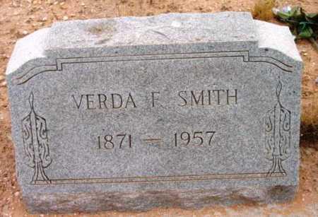 SMITH, VERDA F. - Yavapai County, Arizona   VERDA F. SMITH - Arizona Gravestone Photos