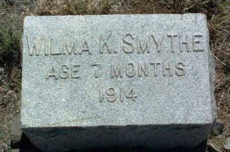 SMYTHE, WILMA KATHERINE - Yavapai County, Arizona   WILMA KATHERINE SMYTHE - Arizona Gravestone Photos
