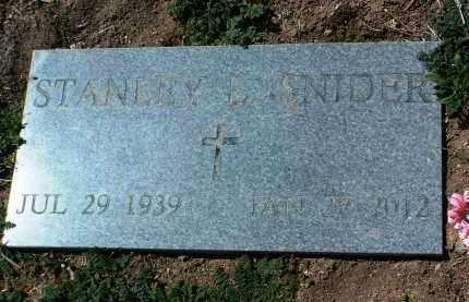 SNIDER, STANLEY L. - Yavapai County, Arizona | STANLEY L. SNIDER - Arizona Gravestone Photos