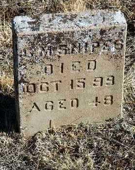 SNIPES, C. M. - Yavapai County, Arizona   C. M. SNIPES - Arizona Gravestone Photos