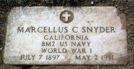 SNYDER, MARCELLUS C. - Yavapai County, Arizona | MARCELLUS C. SNYDER - Arizona Gravestone Photos