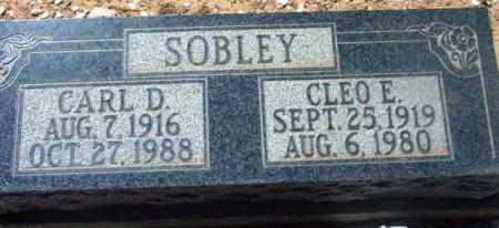SOBLEY, CARL D. - Yavapai County, Arizona | CARL D. SOBLEY - Arizona Gravestone Photos