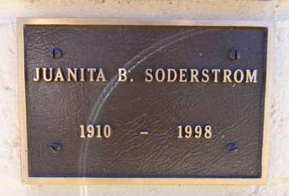 BRIDGES SODERSTRON, J. - Yavapai County, Arizona | J. BRIDGES SODERSTRON - Arizona Gravestone Photos