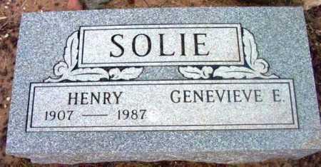 SOLIE, HENRY - Yavapai County, Arizona   HENRY SOLIE - Arizona Gravestone Photos