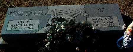 SORRELLS, MARY ANN - Yavapai County, Arizona | MARY ANN SORRELLS - Arizona Gravestone Photos