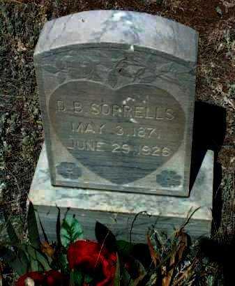 SORRELLS, DAVID BENJAMIN - Yavapai County, Arizona   DAVID BENJAMIN SORRELLS - Arizona Gravestone Photos