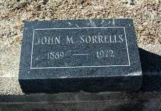 SORRELLS, JOHN M. - Yavapai County, Arizona   JOHN M. SORRELLS - Arizona Gravestone Photos
