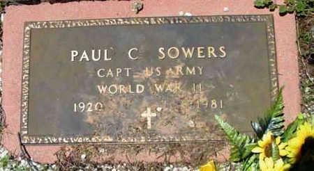 SOWERS, PAUL C. - Yavapai County, Arizona   PAUL C. SOWERS - Arizona Gravestone Photos