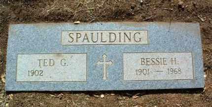 SPAULDING, TED G. - Yavapai County, Arizona | TED G. SPAULDING - Arizona Gravestone Photos