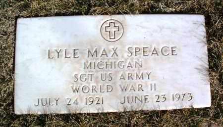 SPEACE, LYLE MAX - Yavapai County, Arizona | LYLE MAX SPEACE - Arizona Gravestone Photos