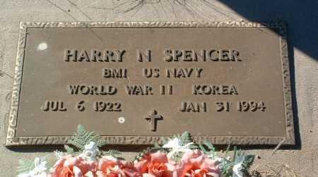 SPENCER, HARRY N. - Yavapai County, Arizona | HARRY N. SPENCER - Arizona Gravestone Photos