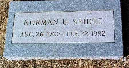 SPIDLE, NORMAN U. - Yavapai County, Arizona | NORMAN U. SPIDLE - Arizona Gravestone Photos