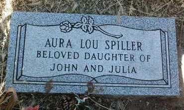 SPILLER, AURA LOU - Yavapai County, Arizona   AURA LOU SPILLER - Arizona Gravestone Photos