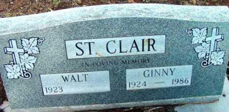 ST. CLAIR, GINNY - Yavapai County, Arizona   GINNY ST. CLAIR - Arizona Gravestone Photos
