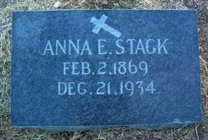 STACK, ANNA EMMA - Yavapai County, Arizona | ANNA EMMA STACK - Arizona Gravestone Photos
