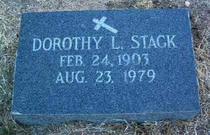 STACK, DOROTHY L. - Yavapai County, Arizona | DOROTHY L. STACK - Arizona Gravestone Photos