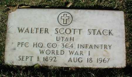 STACK, WALTER SCOTT - Yavapai County, Arizona | WALTER SCOTT STACK - Arizona Gravestone Photos