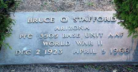 STAFFORD, BRUCE Q. - Yavapai County, Arizona   BRUCE Q. STAFFORD - Arizona Gravestone Photos